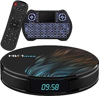 Android TV Box 10.0 4GB 64GBSmart TV Box Streaming Media Player RK3318 USB 3.0 Ultra HD 1080P 4K HDR WiFi 2.4GHz 5.8GHz B...