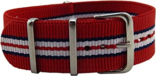 Colorful Luxurious Durable Nylon NATO Style Watch Straps Bands Replacements for Men