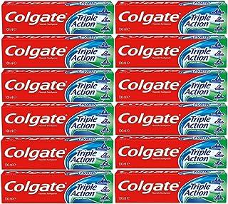 Vultech Pasta de dientes con fluoruro de menta de triple acción 12 x 100ml