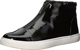 Kenneth Cole New York Womens 7 Kayla Front Zip Sneaker Bootie