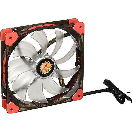 Thermaltake Luna 140mm Silent Fan Cooling CL-F021-PL14BU-A Blue LED