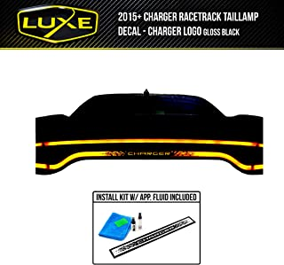 Luxe Auto Concepts Charger Racetrack Taillamp Decal - Charger