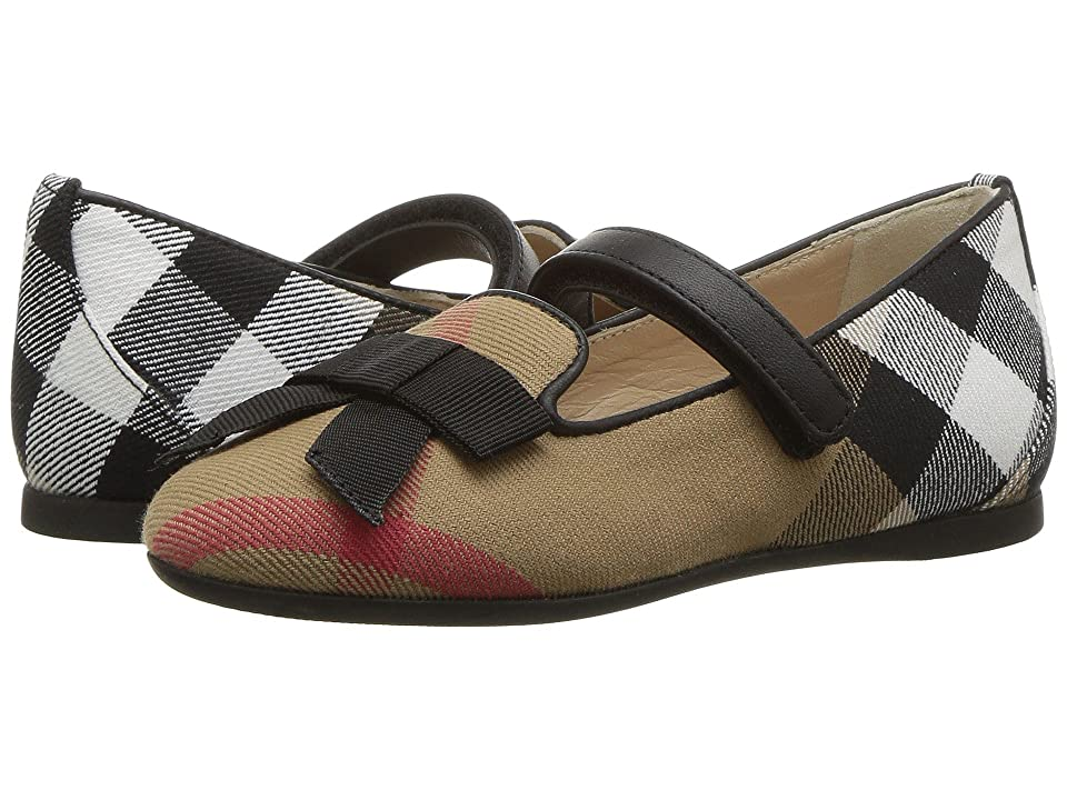 Burberry Kids Ally HC ABDYQ Shoe (Toddler) (Classic Check) Kid