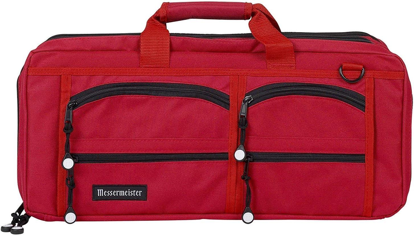 Messermeister 18-Pocket Superlatite Heavy Duty Meister Bag Knife Lugga Chef Cheap SALE Start
