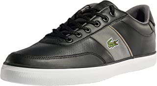 Lacoste Men's Court-Master 318 1 CAM Trainers, Black