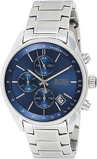 ساعة جراند بريكس للرجال بمينا ازرق وسوار من الستانلس ستيل من هوجو بوس- 1513478