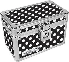 索引卡盒 3 x 5 Inch 黑白波尔卡圆点