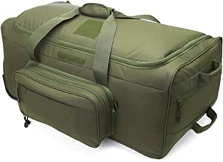 camo travel luggage