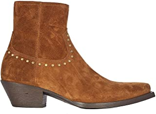 SAINT LAURENT Luxury Fashion Mens 6031881NZTT2330 Brown Ankle Boots |