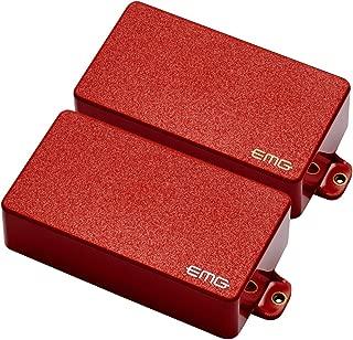 EMG 81/85 Active Electric Guitar Humbucker Pickup Set Red