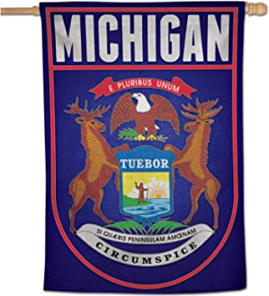 NA WinCraft Destination Michigan State//Michigan License PlateState//Michigan License Plate Multi