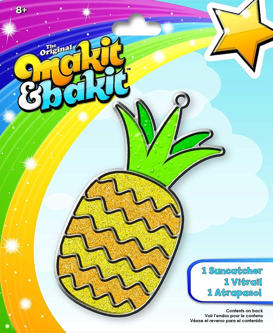 Colorbok 73985 Makit & Bakit Suncatcher Pineapple Multi-Colored