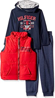Tommy Hilfiger Boys' Toddler 3 Pieces Vest Set