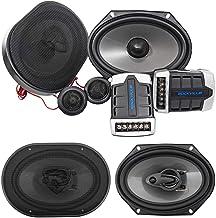 "$79 » Pair Rockville RV68.2C 6x8 / 5x7"" Component Speakers+6x8"" Coaxial 3-Way Speakers"