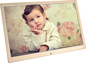 13.3 inch Digital Picture Photo Frame 1366x768 High Resolution Picture/Mp3/Video Player,with Remote Control/Calendar/12 Languages Function,with USB/SD/MMC/MS Card Port