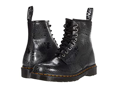 Dr. Martens 1460 (Silver Arcadia Chain Emboss) Lace-up Boots