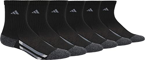adidas Youth Kids-Boy's/Girl's Cushioned Crew Socks (6-Pair)