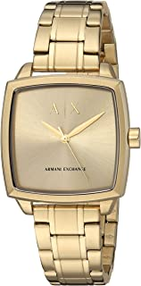 Armani Exchange Gold-Tone Stainless Steel Watch AX5452