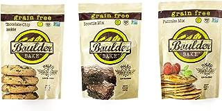 Boulder Bake Brownie, Cookie, and Pancake Baking Mixes - 3 pack - Gluten Free, Grain Free, Paleo, and Vegan