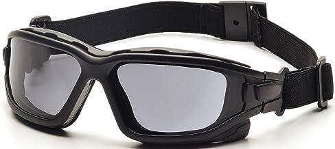 Óculos de segurança Pyramex I-Force Slim, Black Frame/Gray Anti-Fog Lens