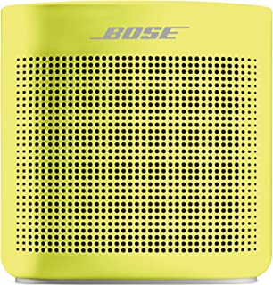 Bose SoundLink Color Bluetooth speaker II ポータブルワイヤレススピーカー イエローシトロン