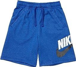 Sportswear Club + HBR Fleece Shorts (Big Kids)
