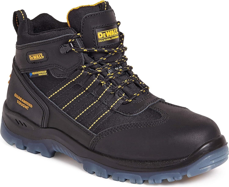 Nickel Black Waterproof Safety Hiker, Size 8