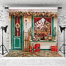 WOLADA 10x10ft Beautiful Christmas Theme Vinyl Customized Backdrop CP Photography Prop Photo Background 10794 …
