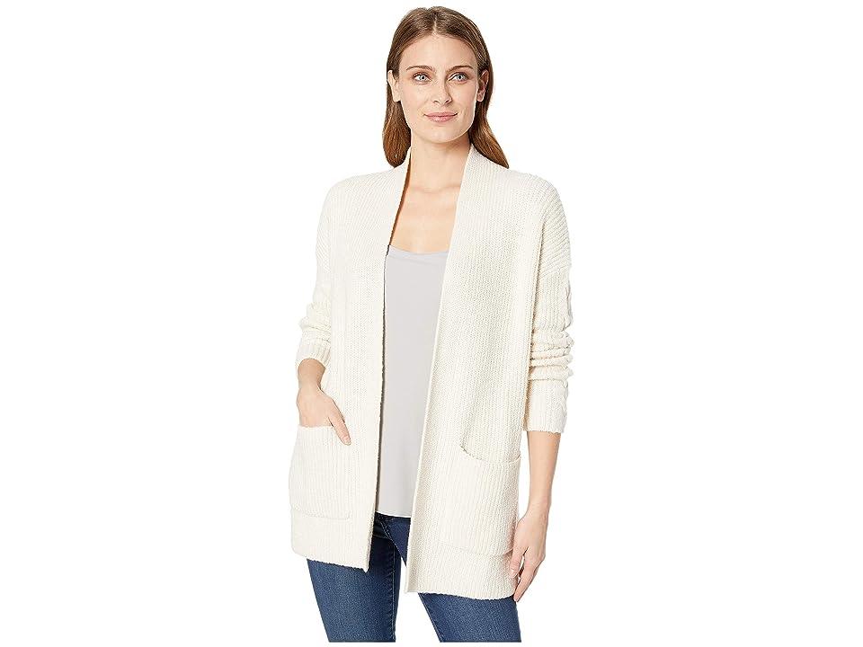 Lucky Brand Venice Cardigan Sweater (Snow White) Women