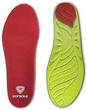 Sof Sole Plantillas para hombre de alto rendimiento de arco de espuma de longitud completa inserción de zapatos