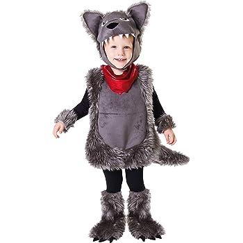 My Other Me Me-203200 Disfraz de pequeño lobo, 1-2 años (Viving ...