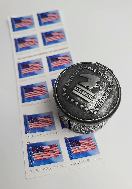 Floral Max 68% Ranking TOP2 OFF Metal Stamp Coil Holder Dispenser