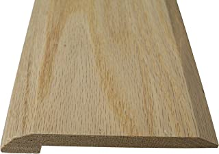 Style 4- Solid Red Oak Interior Threshold- 4 inch Width (48 inches Long)