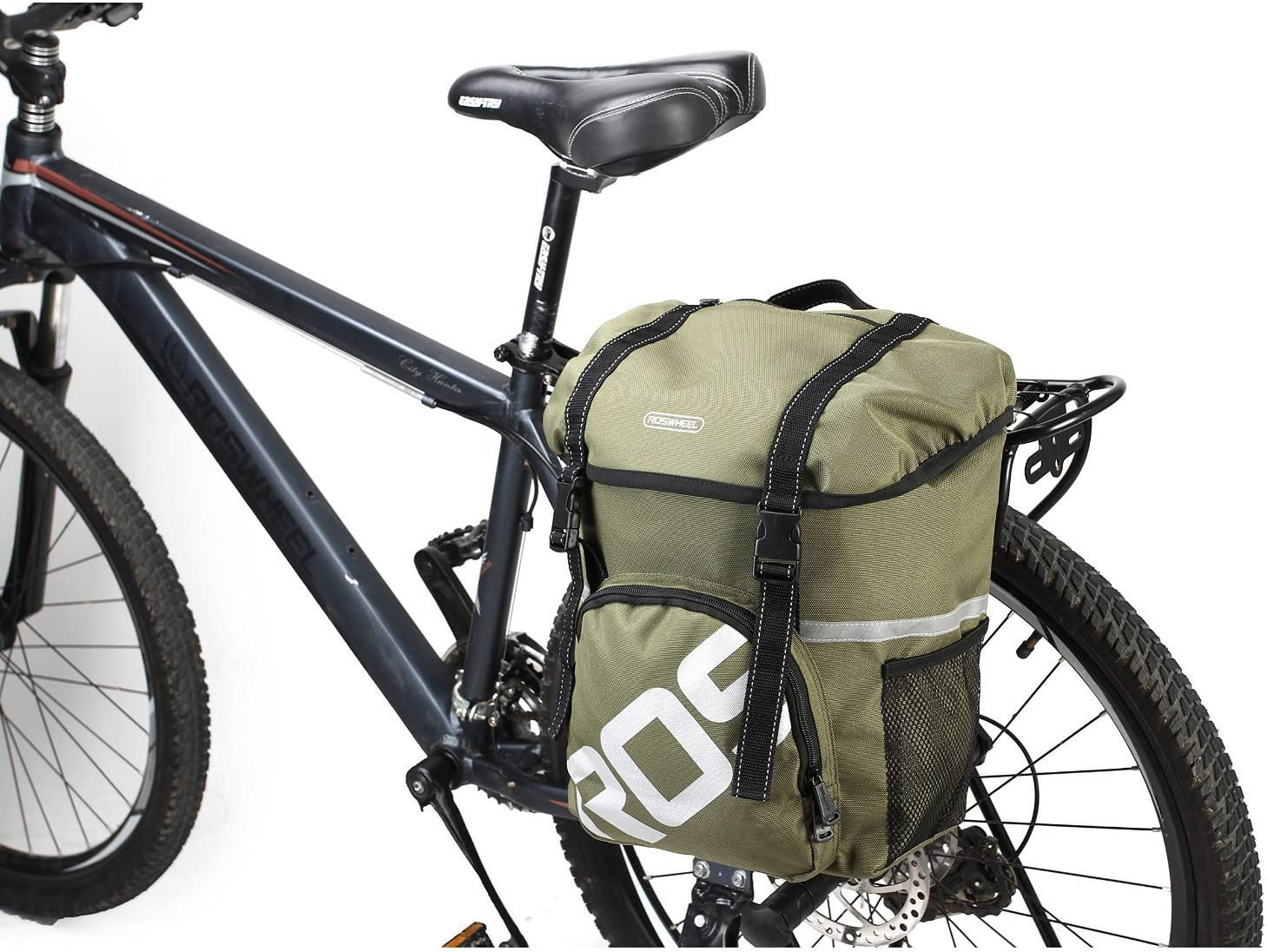 CROMI Outdoor Waterproof wear-resisting 67% OFF of fixed price Canvas Trunk Bike Tail B Max 71% OFF
