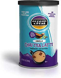 Oregon Chai Chai Tea Latte Powdered Mix, Vanilla, 10 Ounces(Packaging may vary)