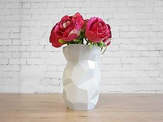 Poligon Vase - Poligone Vaso - piante disegno originali piatti fatto cina fiori