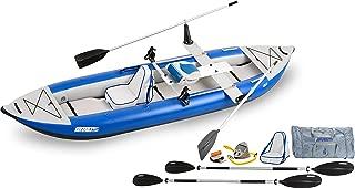 Sea Eagle Inflatable 420X Explorer Kayak QuikRow Package