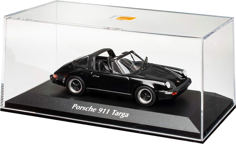 Porsche 911 930 G-Modell Targa Cabrio Schwarz 1973-1989 1//43 Minichamps Maxichamps Modell Auto mit individiuellem Wunschkennzeichen