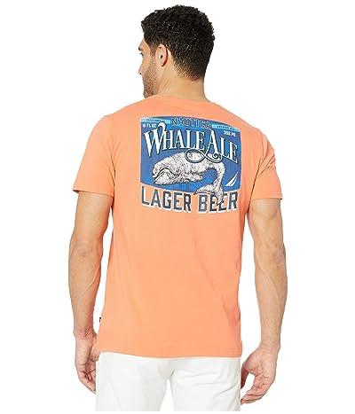 Nautica Short Sleeve Graphic Tee (Orange) Men