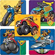 SmileMakers Scooby DOO Action Stickers - Prizes 100 per Pack