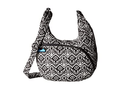 KAVU Sydney Satchel (Black Batik) Satchel Handbags