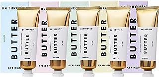 54 Thrones African Beauty Body Butter Gift Set Tin for Women - Moisturizing African Body Cream Kit for Sensitive Skin - No...