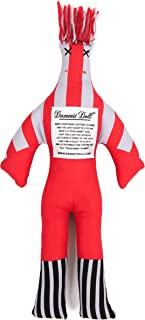 Dammit Doll - Win The Red Zone - Scarlett & Silver - Stress Relief - Gag Gift - Sports Teams