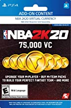 NBA 2K20: 75000 VC Pack - [PS4 Digital Code]
