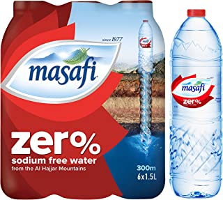 Masafi Zero 1.5ltr Pack Of 6(Pack of 1)