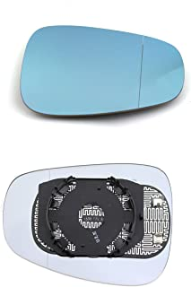 clip-on Driver laterale destra riscaldata anta vetro argento specchio con piastra di # c-shy//r-rtko12/
