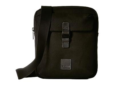 KNOMO London Fulham Tilton Crossbody (Black) Cross Body Handbags