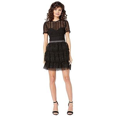 Bardot Ava Lace Dress (Black) Women