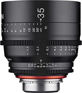 Rokinon Xeen XN35-C 35mm T1.5 Professional Cine Lens for Canon EF (Black)
