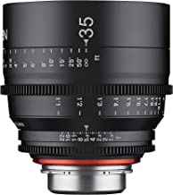 Sponsored Ad - Rokinon Xeen XN35-N 35mm T1.5 Professional Cine Lens for Nikon (Black)
